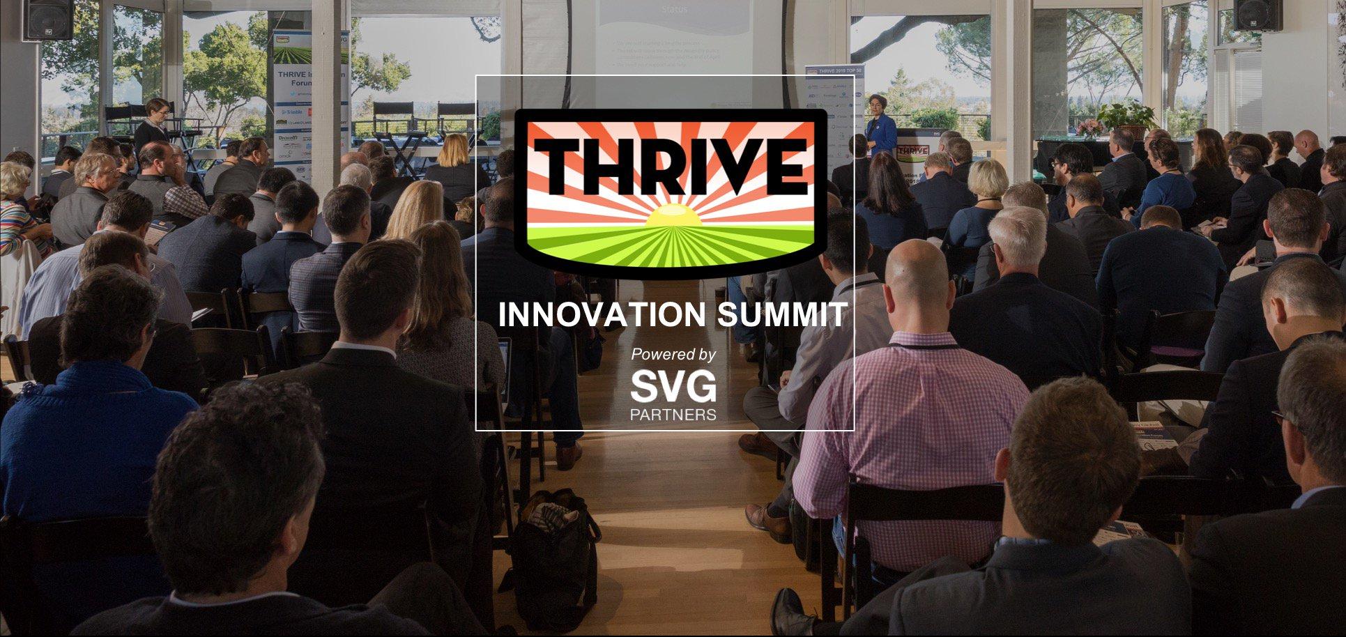 THRIVE Innovation Summit | Agrinovus Indiana