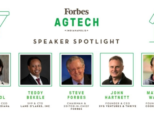 Forbes Announced AgTech Summit In Indianapolis With Focus On The Future Of Food, Animal Health, Soybeans And More