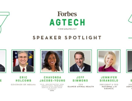 Indiana Governor Eric J. Holcomb Joins Speaker Lineup at Second-Annual Forbes AgTech Summit in Indianapolis