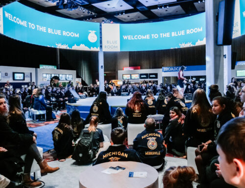National FFA Blue Room