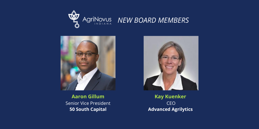 Agrinovus Indiana Adds Agtech Executive Venture Capitalist To Its Board Of Directors Agrinovus Indiana